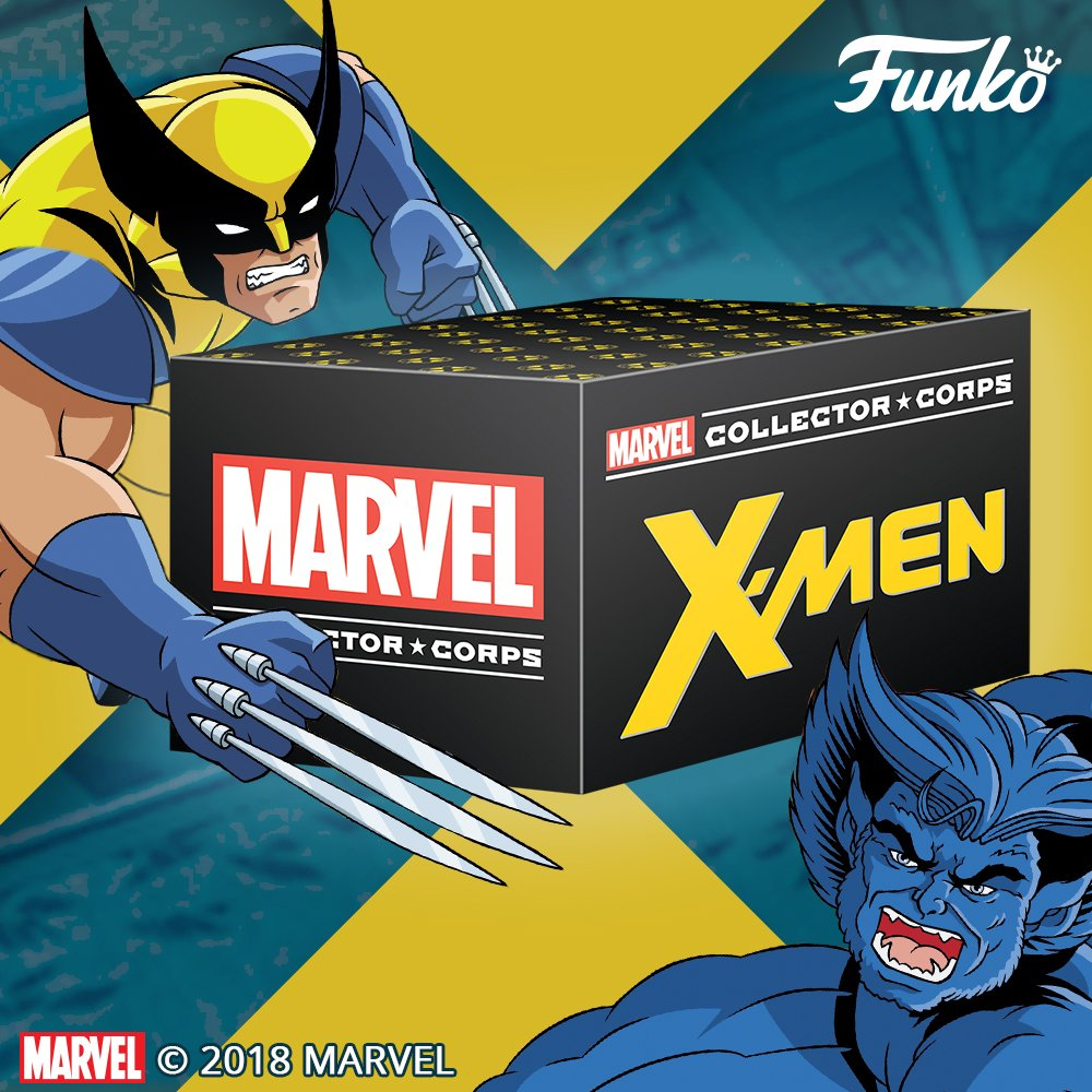 Pay homage to the coolest team of mutant Super Heroes in comic book history with Funko's Marvel Collector Corps X-Men box! amazon.com/Funko-Marvel-C…