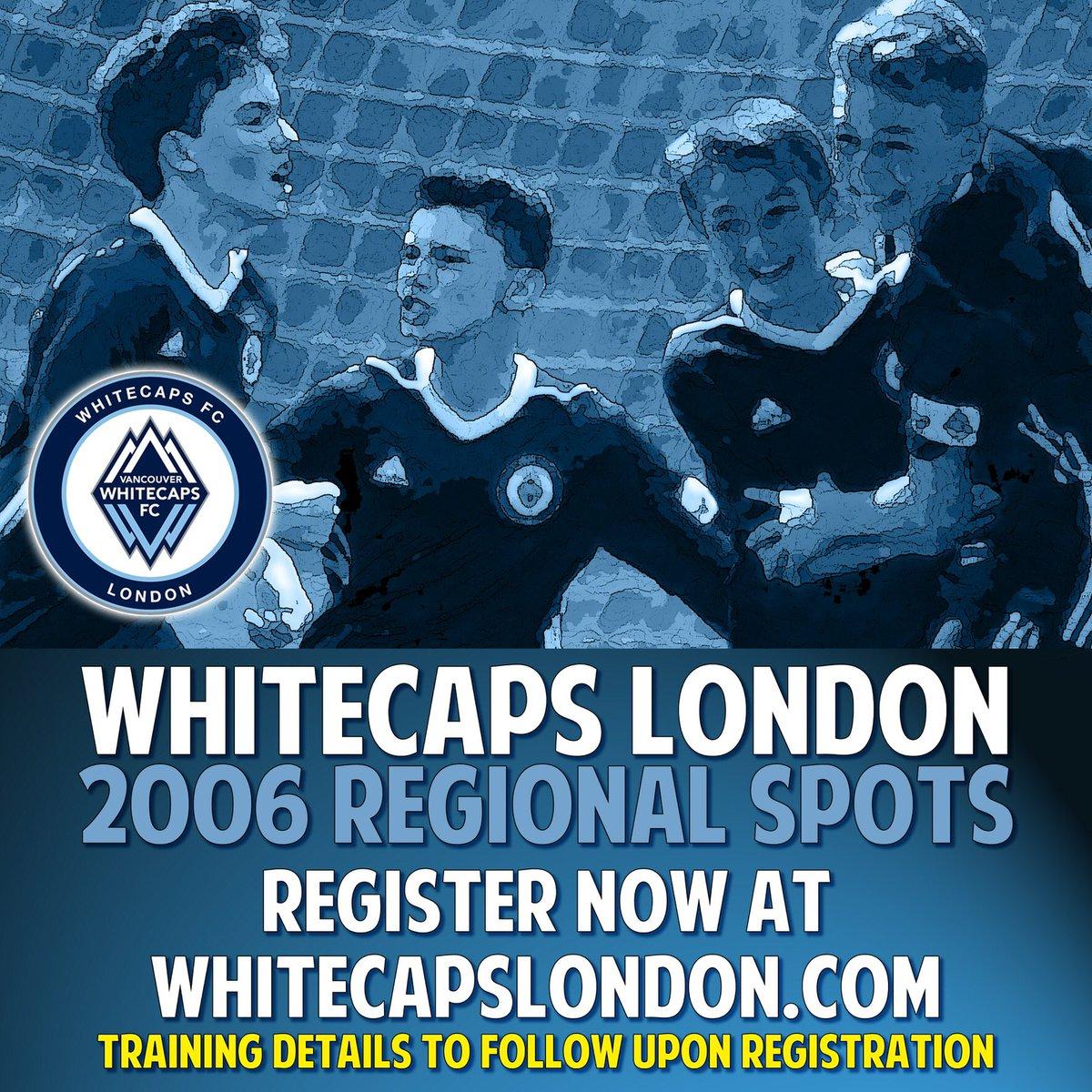 Whitecaps London - 2006 Regional Boys and Girls   ⬇️⬇️⬇️ Link for details ⬇️⬇️⬇️  http://whitecapslondon.teampages.com   #whitecapslondon #lndont @whitecapslondon #ontariosoccer #playerdevelopment