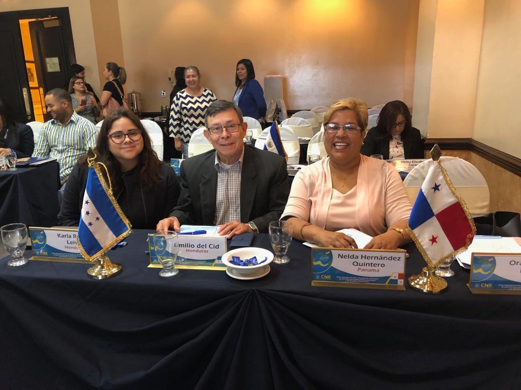 K. Reyes, Docente Investigadora de Ing. en Biomédica de @UNITEC_hn SPS, participa en un Taller sobre Redacción de Solicitudes de Patentes en San Salvador, El Salvador, el cual es patrocinado por la Organización Mundial de la Propiedad Intelectual (OMPI).