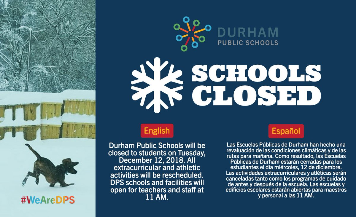 Durham Public Schools On Twitter Dps Has Reassessed Road And