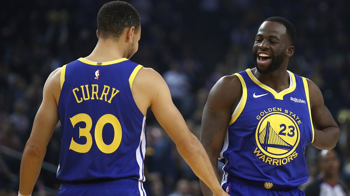 Draymond Green led the Dubs in rebounds, assists, and plus/minus on Monday night. Welcome back, Dray. bit.ly/2Gbd18d (via @MontePooleNBCS)