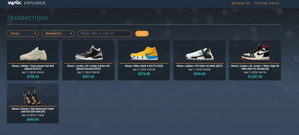 buy popular 1f41d c2407 ... JORDAN 1 RETRO HIGH OG NRG s with a listing price of  1,207.50! Instant- Sell, list them on OPSkins, Instant-Gift, or Redeem them!