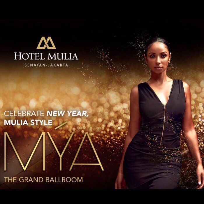 Hey#Jakarta #Indonesia ! Can't wait to bring in the 2019 new year with you December31 #NewYearsEve ! Performing live at The Grand Ballroom at #hotelmuliasenayan @HotelMulia  Details on https://t.co/VSI0I6DiPo &   #2https://t.co/MKtgUZwb0i0#NYE19 🖤🎶🎤💃🏾 🎇 🥂 🎉🖤