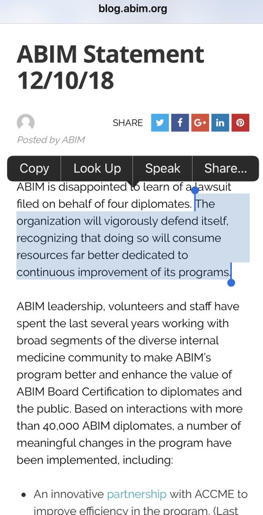 Westby Fisher Md On Twitter Once Again Abim Official Press