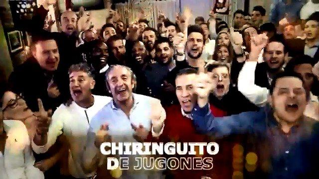 🎄🌟¡EL HIT DE LAS NAVIDADES! 🌟🎄 'El Chiringuito De Jugones', nuestro VILLANCICO interpretado por @DavidDeMaria, Willy Bárcenas (@taburete89), @hugosalazar_, @LuciaGil_Gil, @DmontoyaOficial, @eduardodelval1 y Fernando Fu (@p40music) #ChiringuitoVillancico