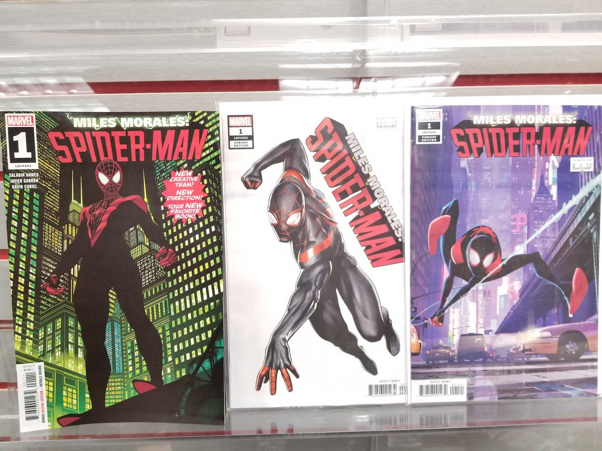 Tomorrow Miles Morales Spider-Man #1 is out by @saladinahmed and @JavierGarron! You dont want to pass up this incredible first issue! @Marvel #NCBD