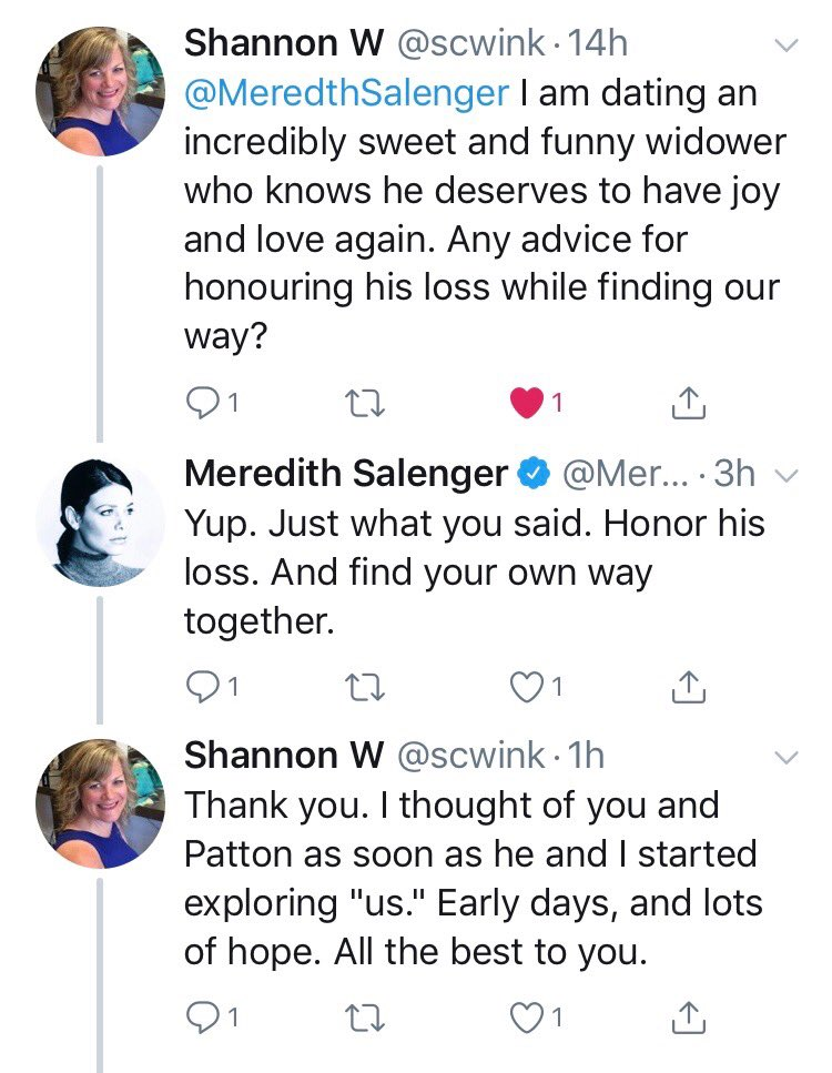 Another Of The 1M Reasons Why I Love MeredthSalenger