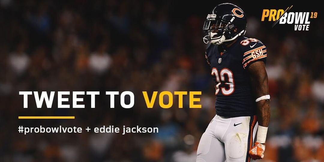 Retweet To Vote❗️❗️ #EddieJackson #ProBowlVote 🐻⬇️