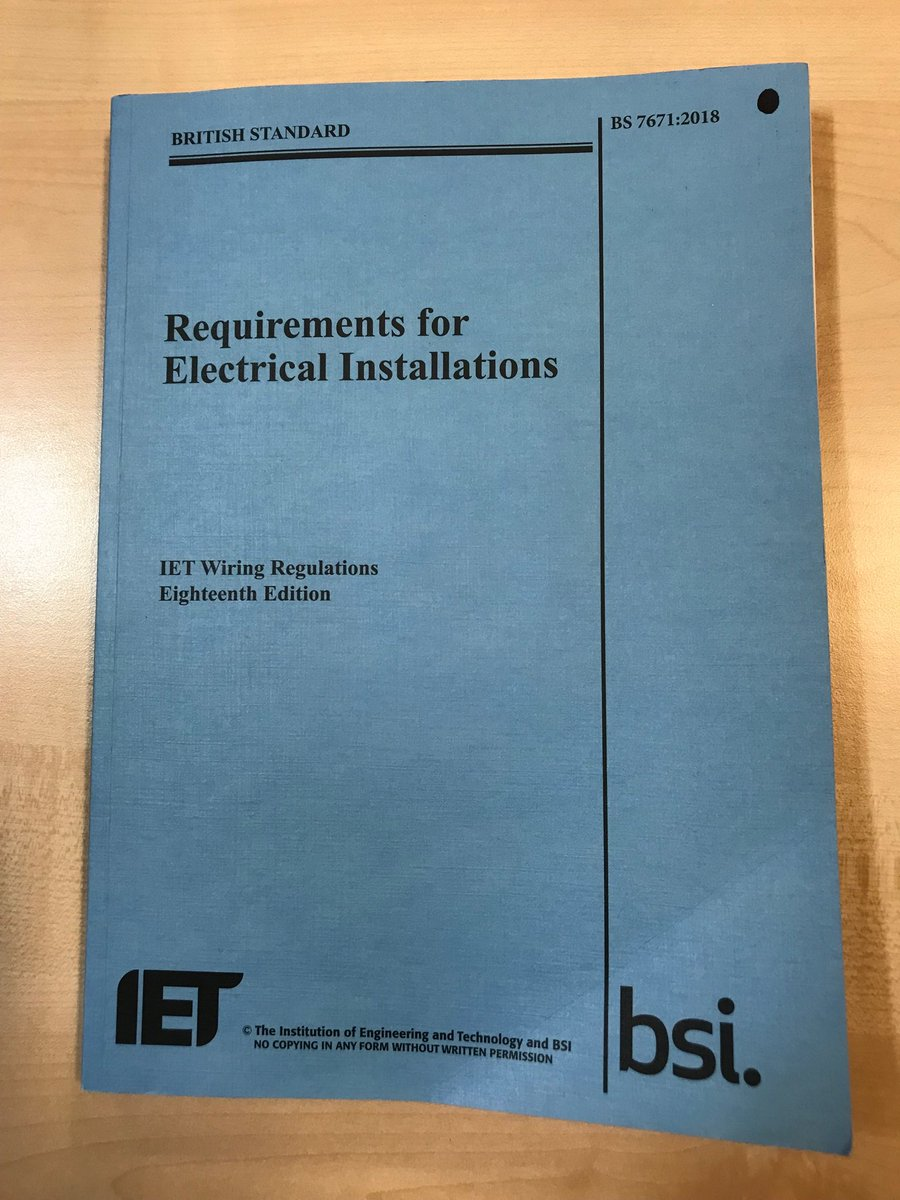 Jackie Mclellan Twitter Wiring Regulations Book 0 Replies 4 Retweets 10 Likes