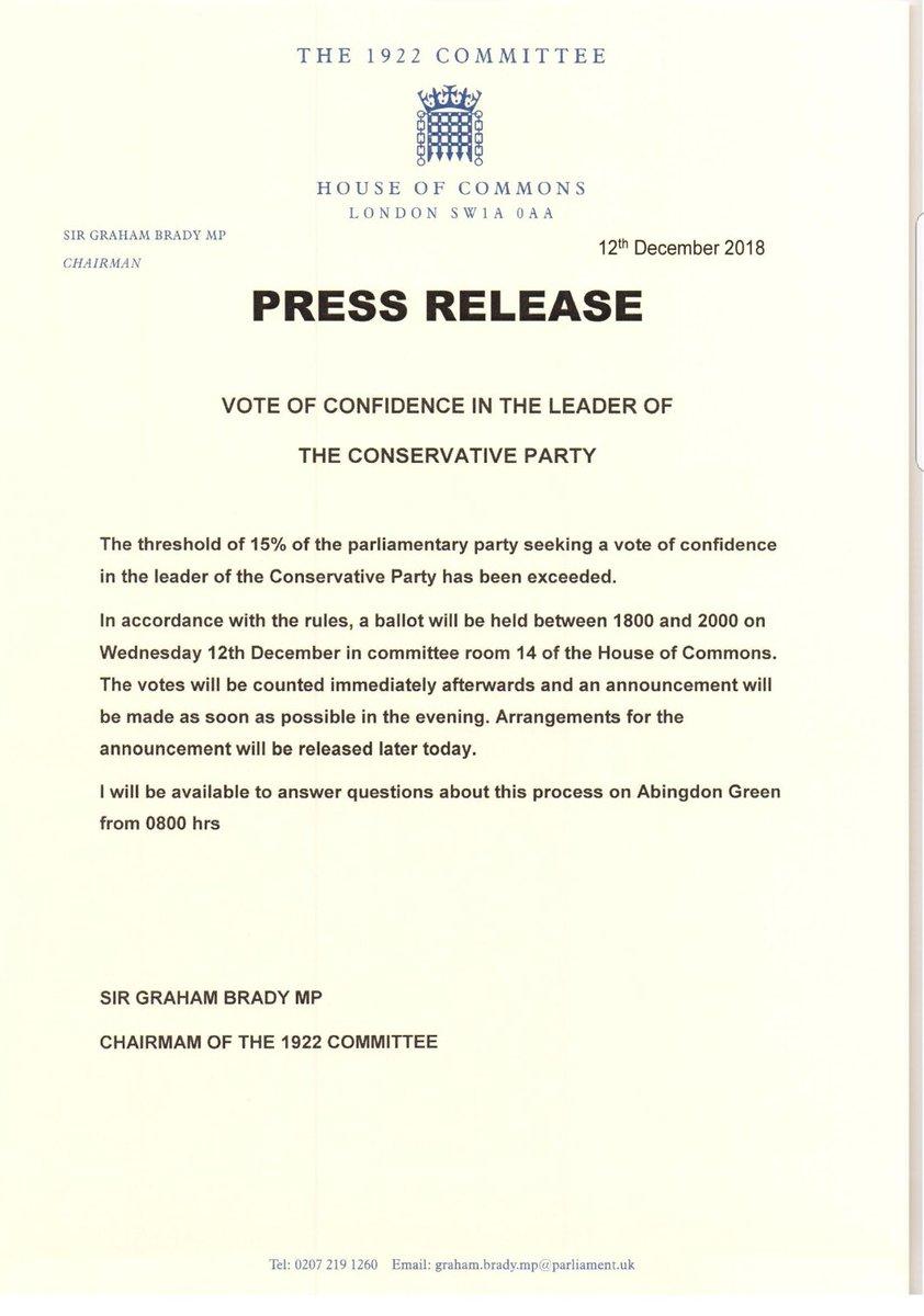 Sir Graham press release
