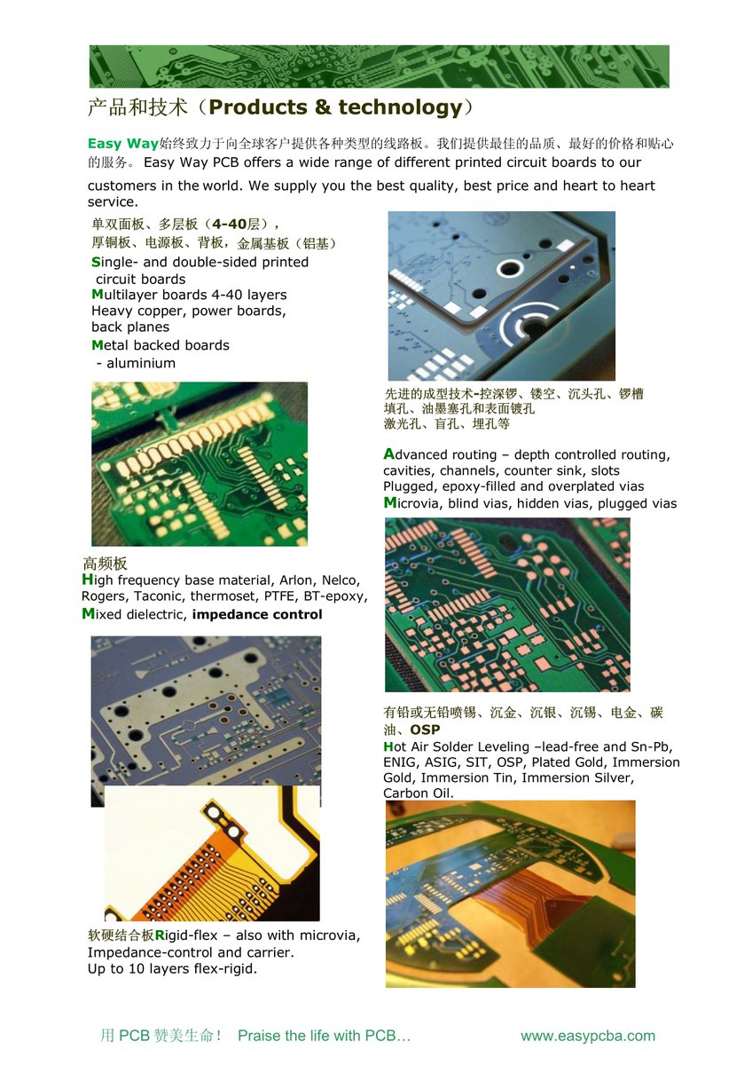 Easy Way On Twitter Our Company Presentation We Are Pcb Factory Printed Circuit Board Assembly China Can Provide High Quality Service Components Purchase One Stop Servicepic Ewradd5l9r