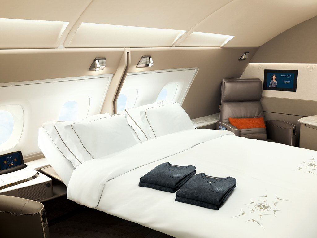 Singapore Airlines' new first-class suites are basically hotel rooms in the sky https://t.co/R8R10kDJx5