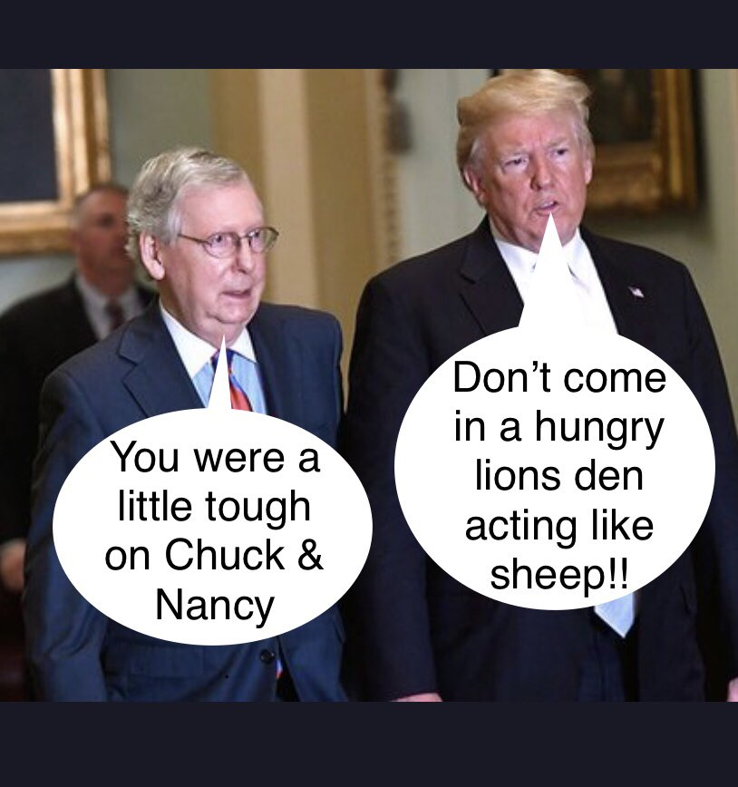 🚨 BREAKING NEWS 🚨 At CKP Inc. we got exclusive comments from Mitch McConnell and President Trump after the Chuck & Nancy best down. America we're on it!!