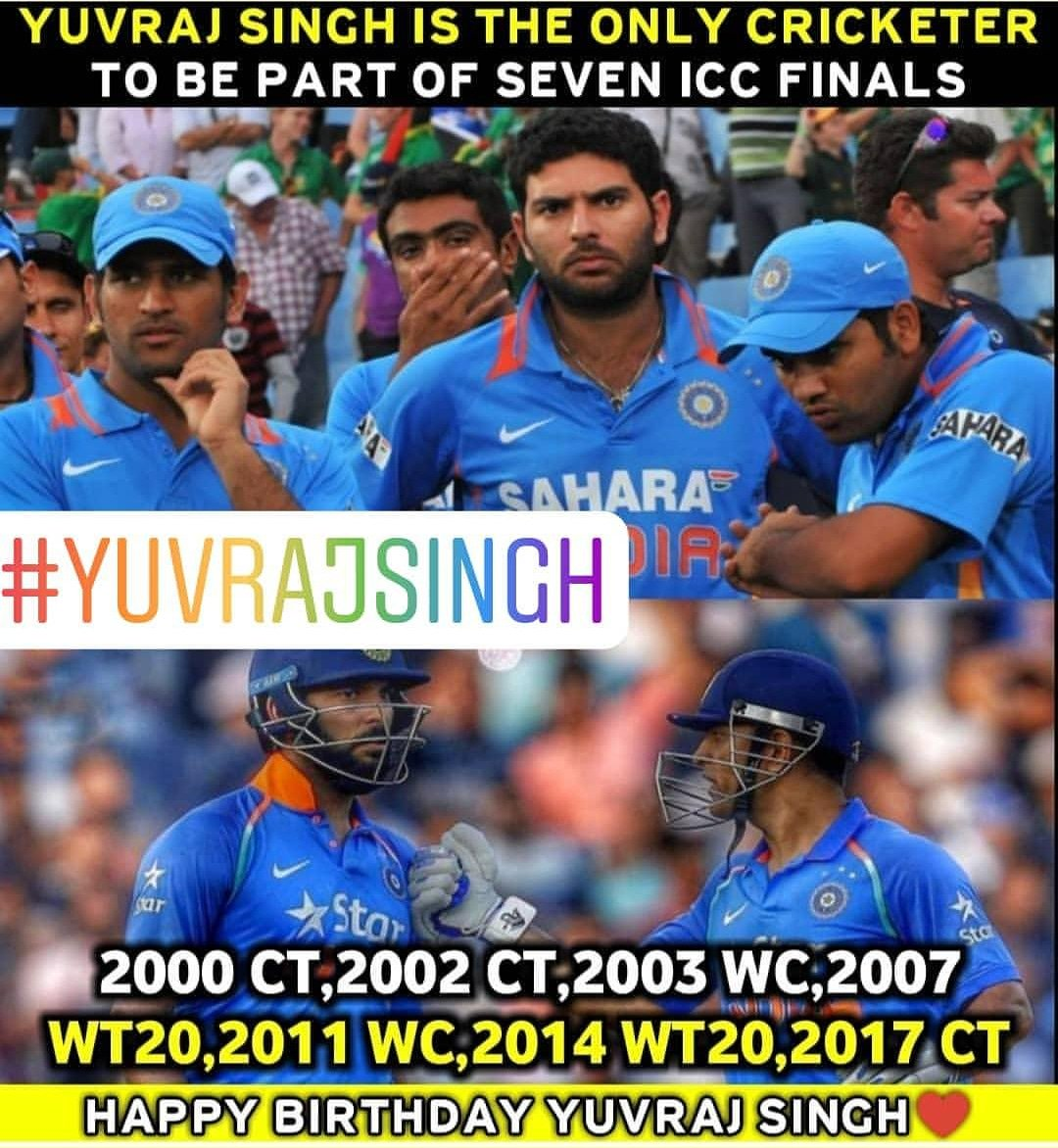Indian Cricket Team Fans On Twitter Yuvraj Singh Is The Only