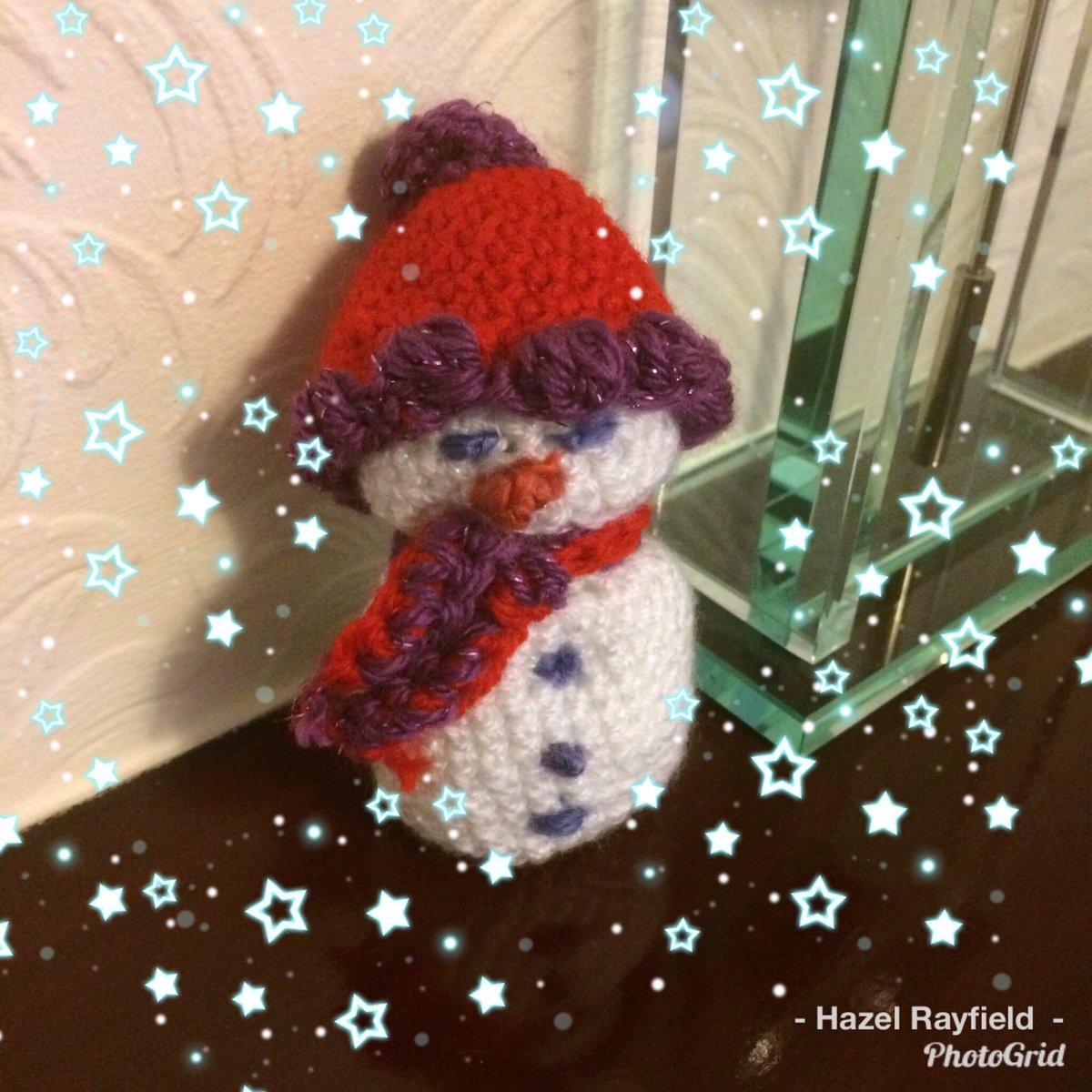 Hazel Rayfield On Twitter Not A Painting But A Miniature Snowman