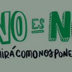 #NoEsNo Twitter Photo