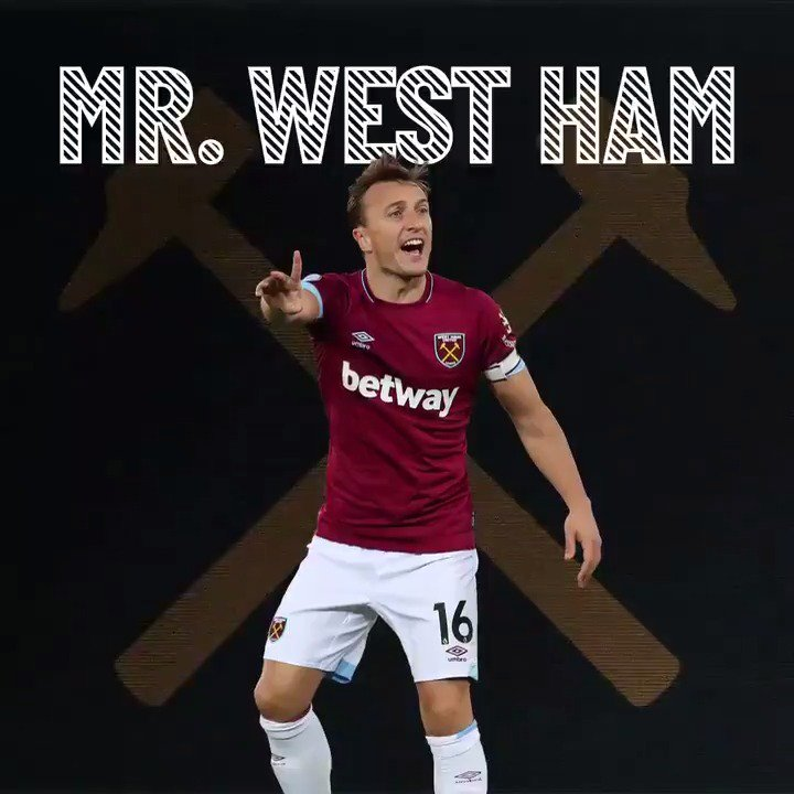 The Club are delighted to announce that we have taken up the option to extend Mark Noble's contract to 2021. There's only one #MrWestHam 👏