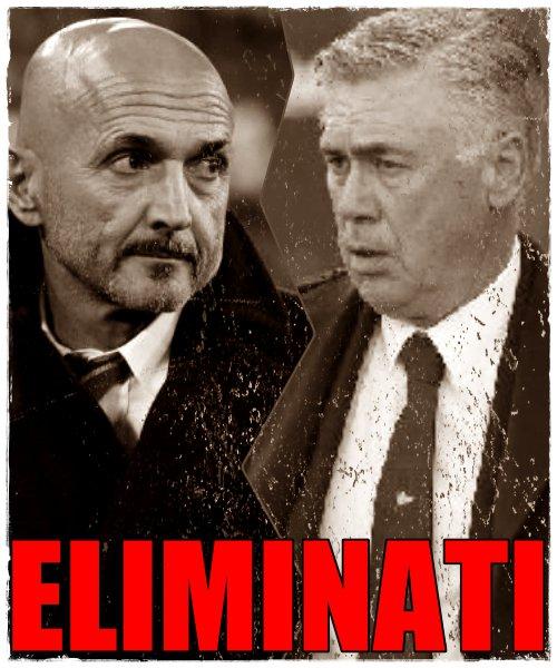 Ma se dopo l'eliminazione dalla #ChampionsLeague è in discussione Spalletti all'Inter perché allora non dovrebbe esserlo Ancelotti al Napoli? Perché questa disparità di trattamento? #InterPsv #LiverpoolNapoli #Bloooog! http://bocca.blogautore.repubblica.it