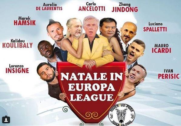 #ChampionsLeague #cinepanettone #ByeBye #Christmas2018