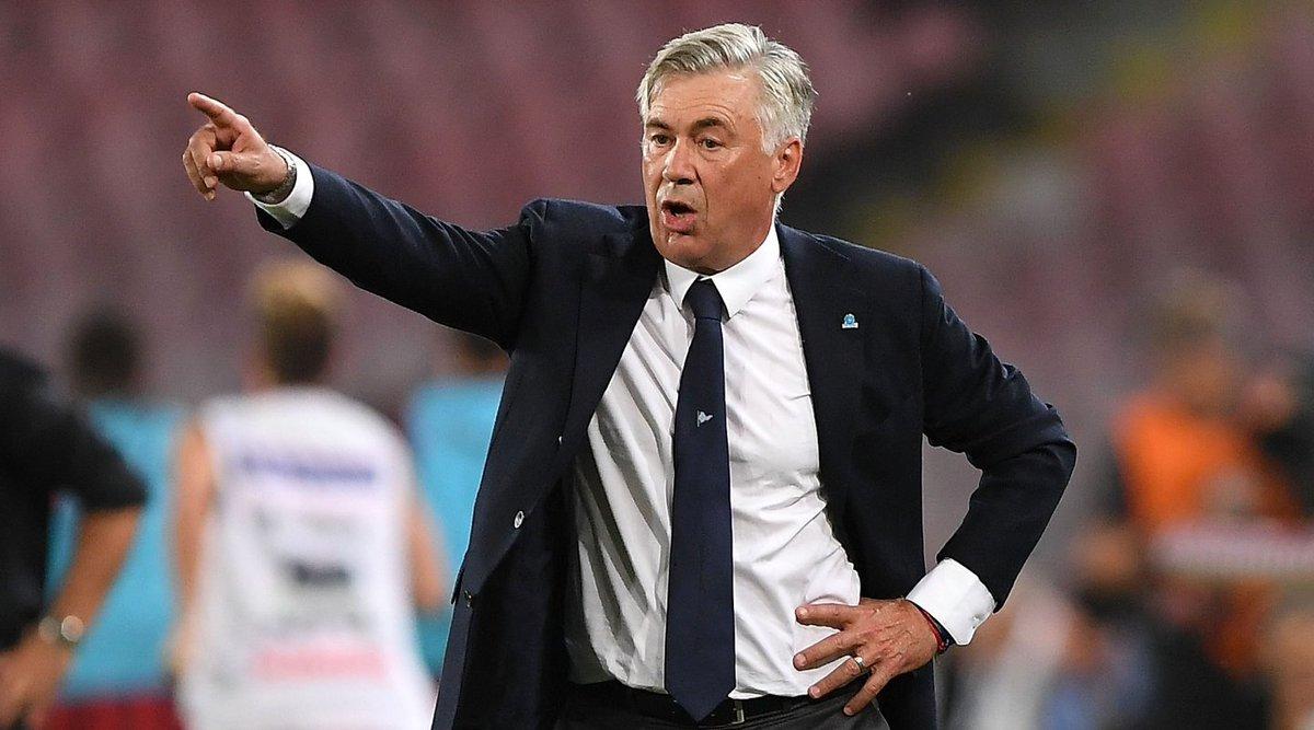 📌⚽ #LoSaiChe ieri sera #Ancelotti con il #Napoli ha fallito l'accesso alla fase a eliminazione diretta della #ChampionsLeague: non gli capitava dalla stagione 2000/01 (quand'era alla #Juventus)  #UCL #SSCN