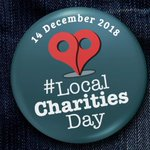 Image for the Tweet beginning: It's #LocalCharitiesDay on Friday 14