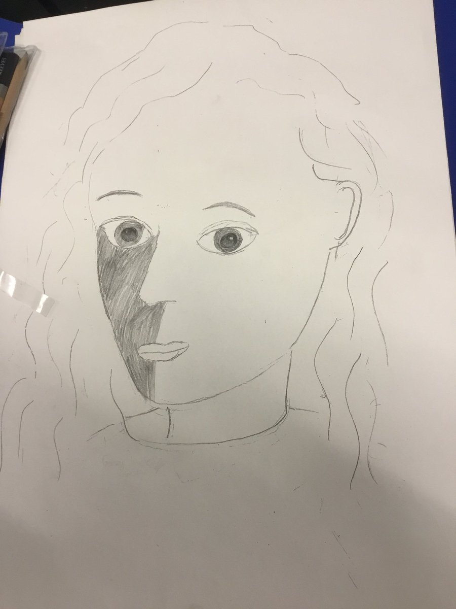 test Twitter Media - Our self portraits are really developing nicely! #gorseyart https://t.co/iMngZXqr1M