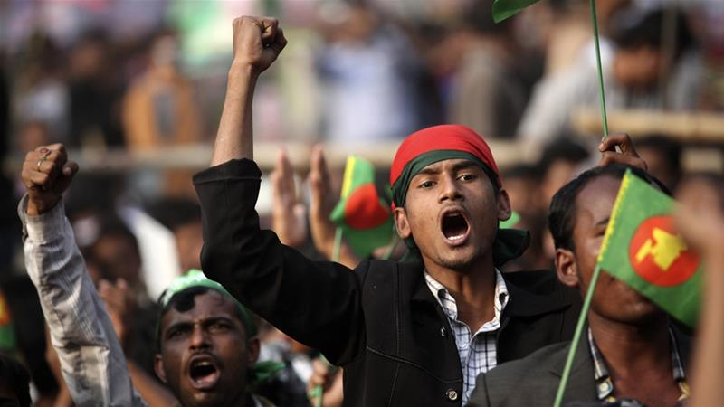 Bangladesh: Two killed in pre-election clashes aje.io/lvc9p