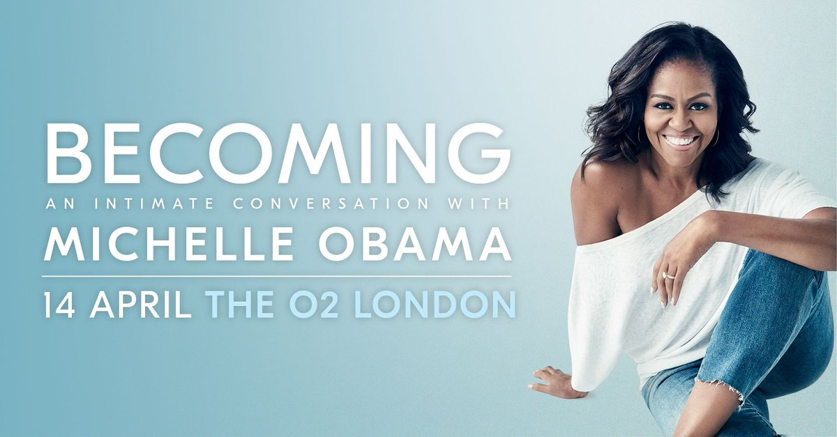 On @O2? Get Priority Tickets for Becoming: An Intimate Conversation with @MichelleObama > https://t.co/Kv8tfETDmM