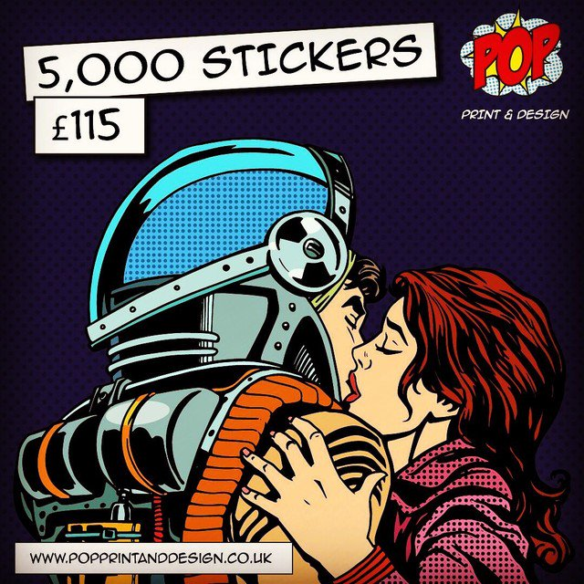 5,000 #STICKERS - £115 with free p&p 📦#yorkshire #southyorksbiz #barnsleyis #doncaster #sheffield #print #labels #Huddersfield #york #leeds