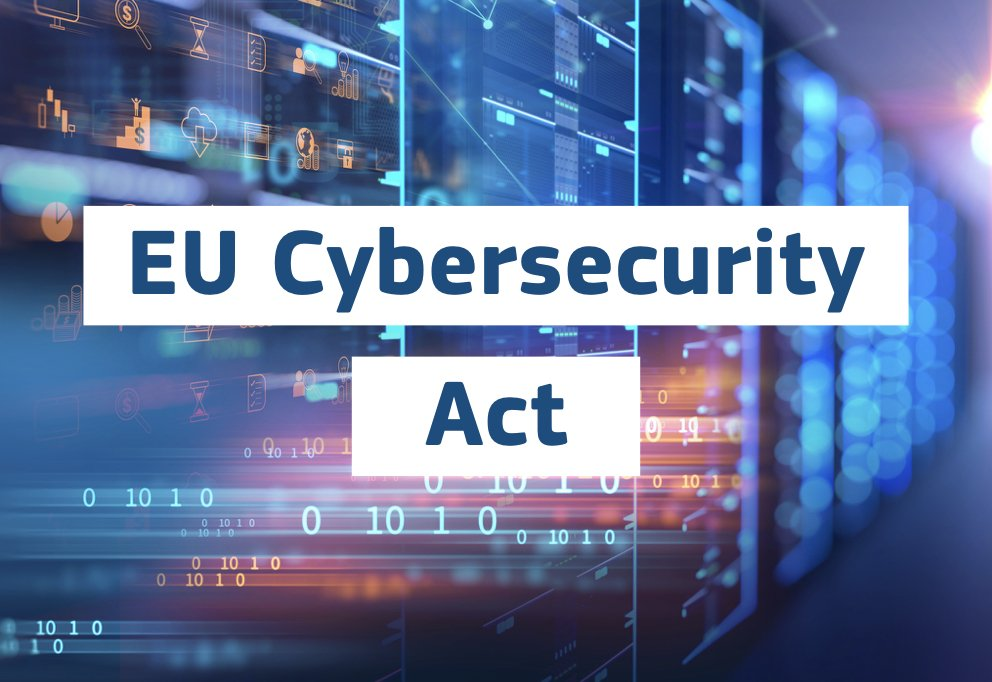 🧐 One of the #CybersecurityActs novelties: ground breaking development 👊 with the introduction of European #Cybersecurity Certificates. ❗️This is the first internal market law aiming to enhance security of #InternetofThings devices❗️ Learn more ➡️europa.eu/!dK76HP