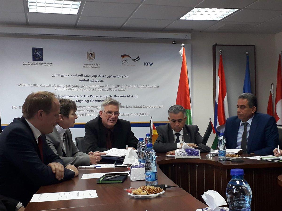 EUR 40 Mio. aus Deutschland für Westbank und Gaza