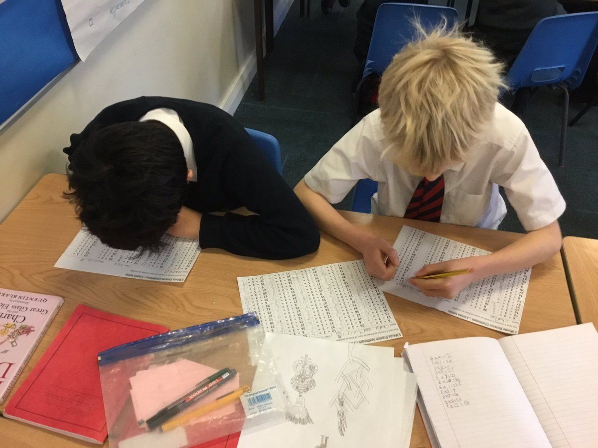 test Twitter Media - Who can be the division champion, using the three times table #gorseymaths https://t.co/pN8ealOTSc