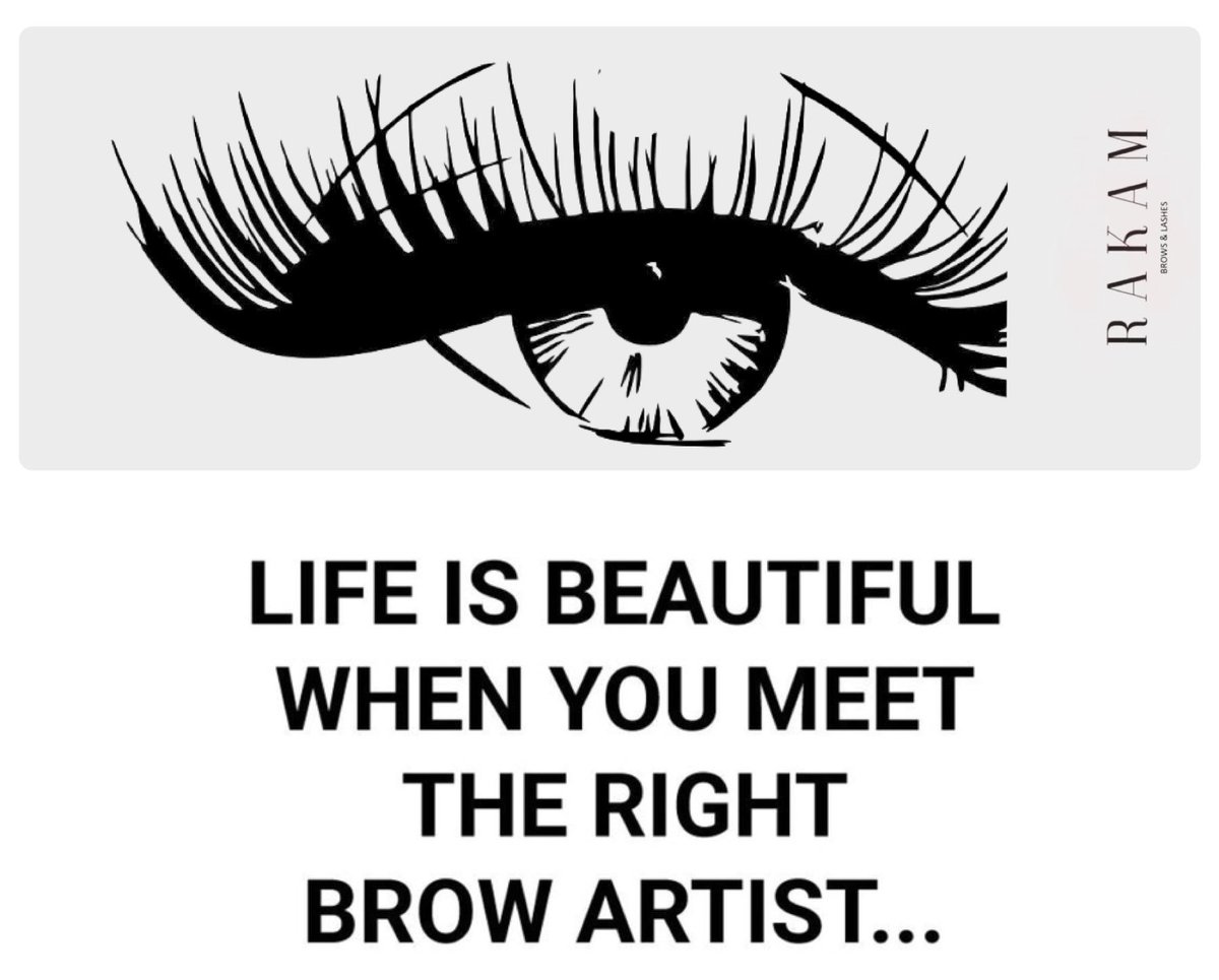 fc8b958cb31 Book an #appointment at @RakamBrows & meet your #perfect #Brow & #