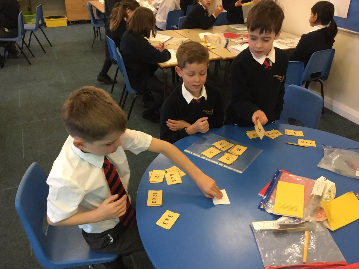 test Twitter Media - Creating our own games to practise the three times table #gorseymaths https://t.co/yCeyszEn8N
