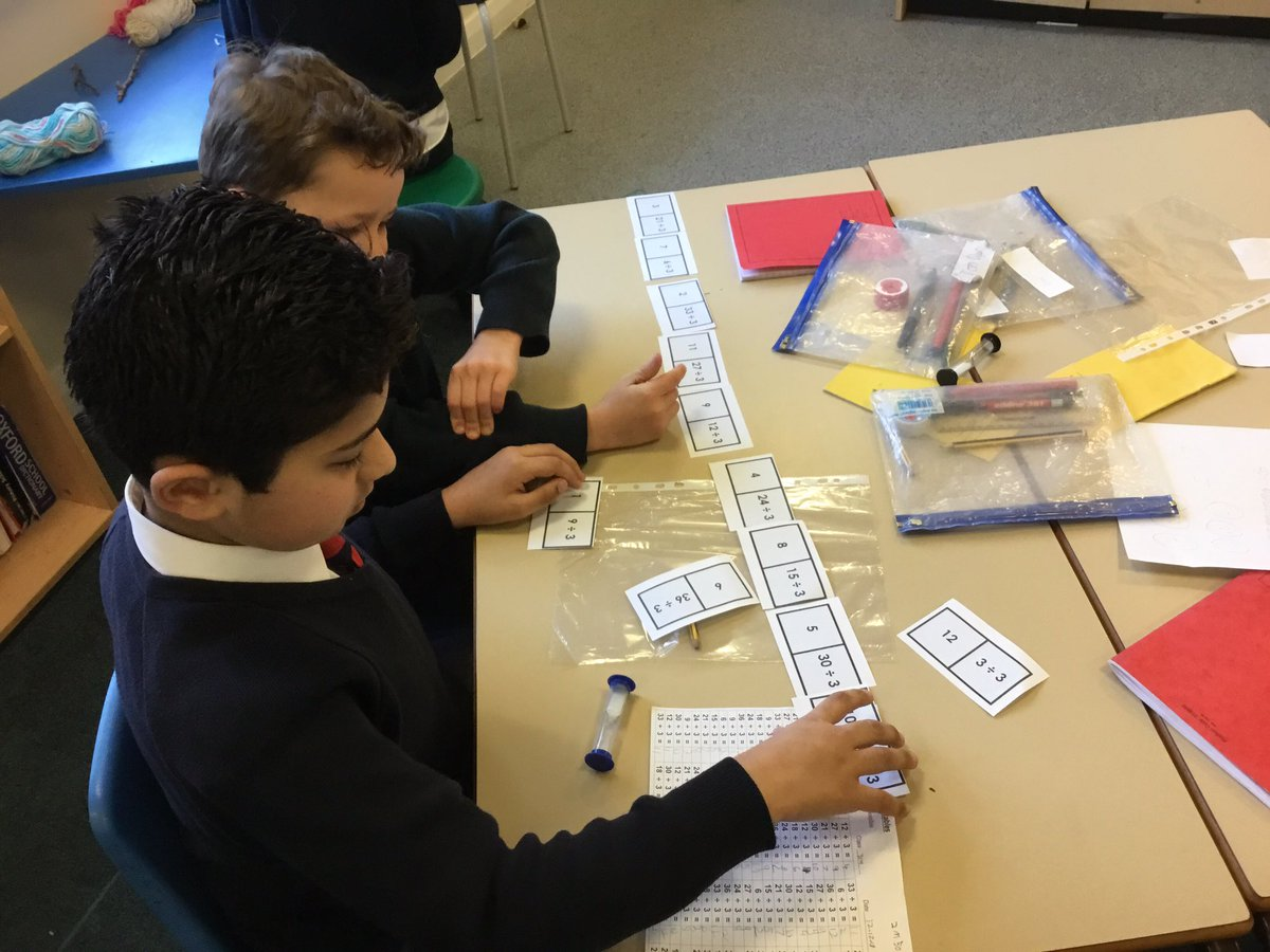 test Twitter Media - Can we use division to complete the domino track?  #gorseymaths https://t.co/N82AUYsFYM