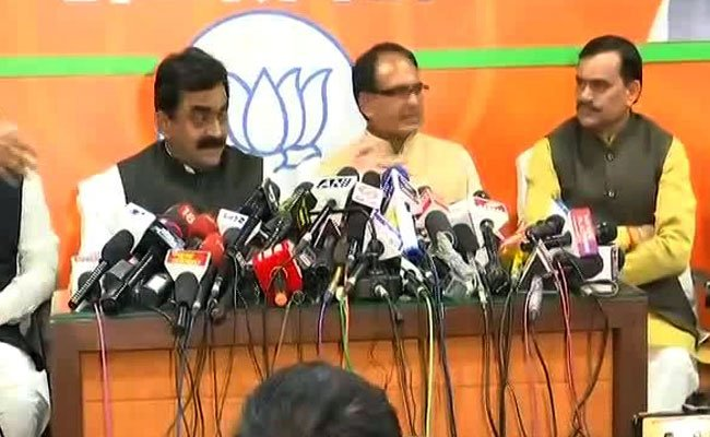 'We accept people's mandate, ' says Madhya Pradesh BJP after defeat  Watch LIVE ohttps://t.co/hMlRpgrUU6n  and NDTV 24x7