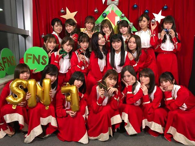 2018年12月12日FNS歌謡祭第2夜サンタコスプレ