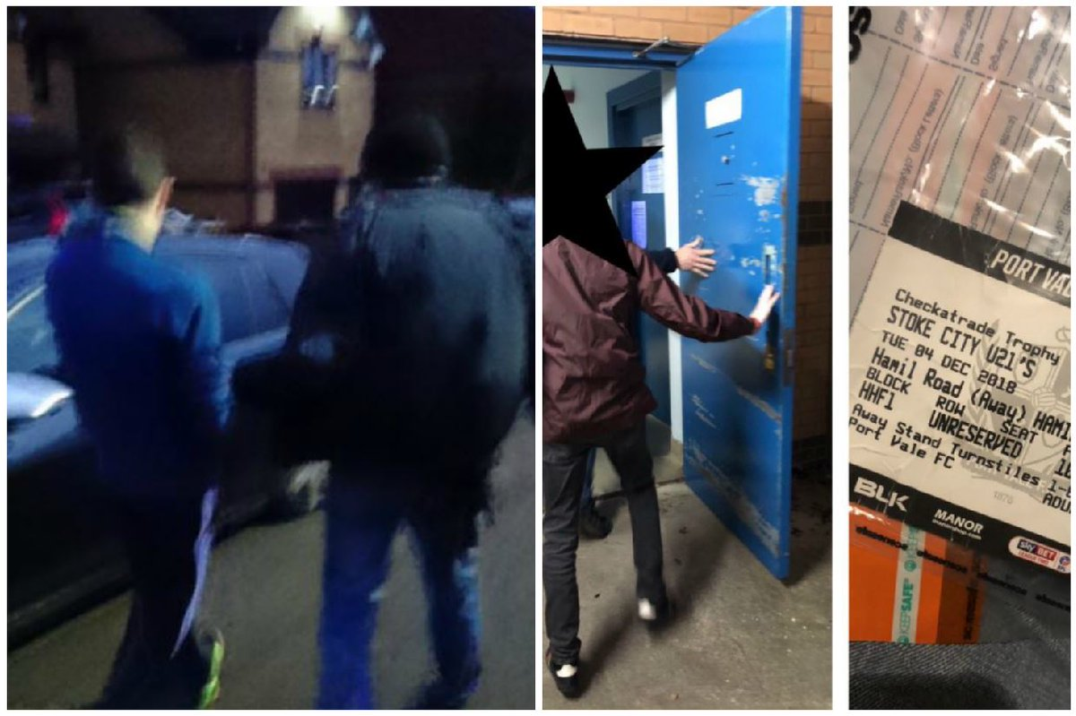Knock, knock. Who's there? You're nicked. @StaffsPolice & @Tactical_Police have made further arrests early doors today in the wake of the trouble at Vale Park last week #pvfc #scfc  https://www.stokesentinel.co.uk/news/stoke-on-trent-news/early-wake-up-calls-police-2318527 …