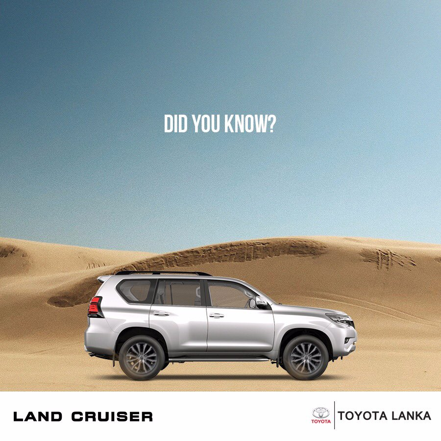 "The meaning of ""Land Cruiser"" is the same as in English. ""Prado"" is Portuguese for ""meadow"" or ""field."" https://t.co/gMUi5JQP5z"