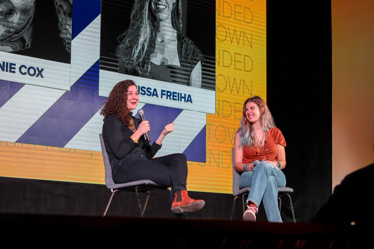 Elissa Freiha, Christina Andreassen, RiseUp and Dulce Lada