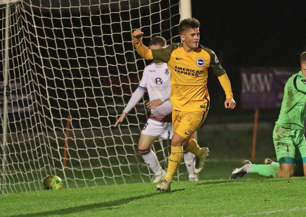 Yes @dannycashman2 🔥  Our @OfficialBHAFC man scored the opener for the U23's in a 4-0 win over Hastings United...as they sealed their place in the quarter-finals of the Sussex Senior Cup.  #KeySports #BHAFC