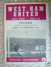 #WHUFC line-up #OTD in 1964 against #FFC: Jim Standen, John Bond, Jack Burkett, Ken Brown, Ronnie Boyce, Martin Peters, Eddie Bovington, John Sissons, Johnny Byrne, Peter Brabrook & @TheGeoffHurst
