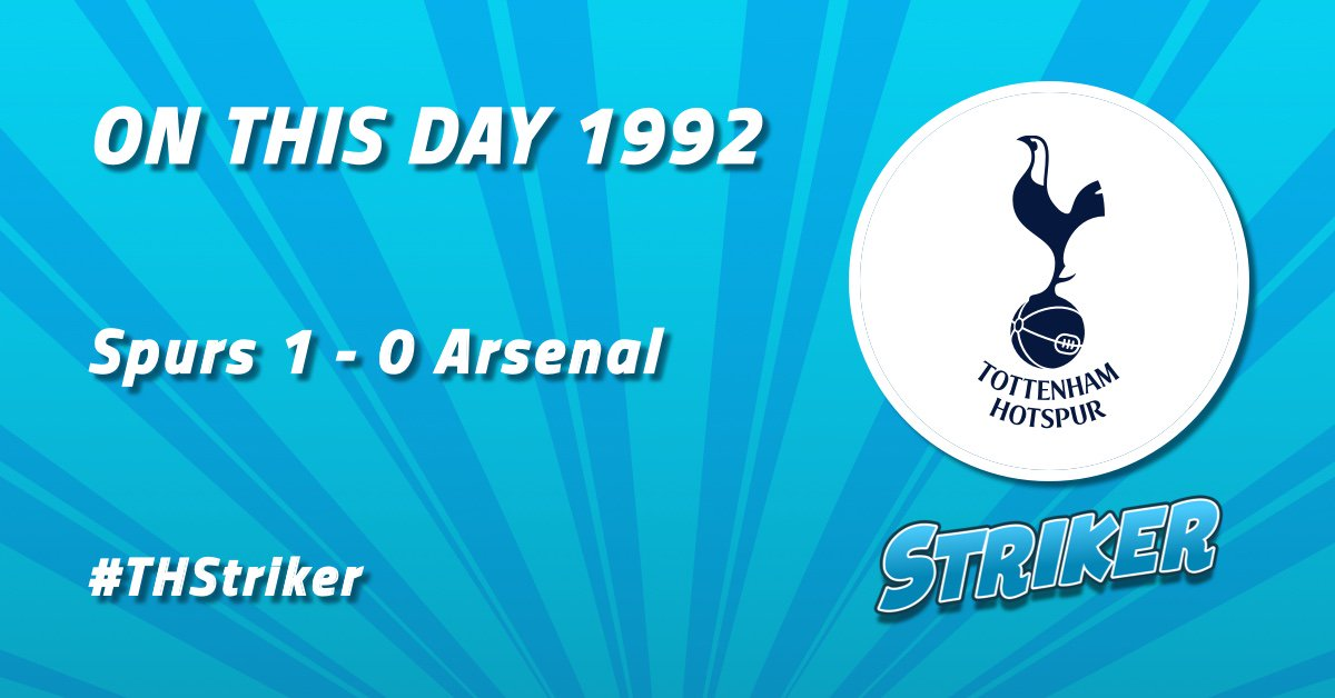 #ONTHISDAY in 92, @SpursOfficial defeated @Arsenal in the first North London Derby of the @premierleague era 🏆  Paul Allen scored the winning goal for #Spurs in the first half at White Hart Lane 💪  See the #THFC line-up 16 years ago:   http://ow.ly/TLm850jU06F via @SkySports