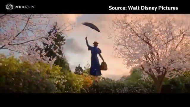 Mary Poppins - the world's beloved nanny - returns to screens https://reut.rs/2zwKjsR via @ReutersTV #MaryPoppins