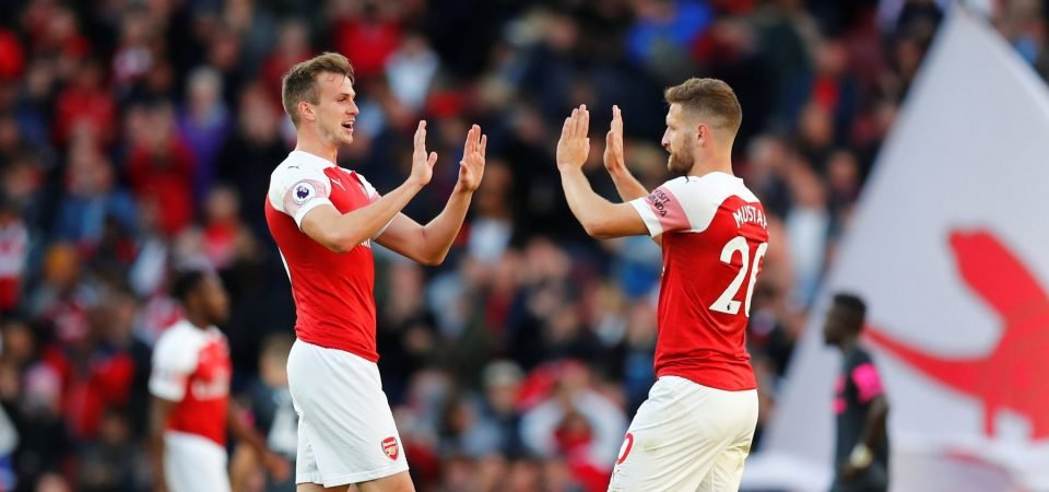 Mustafi is a doubt with a hamstring injury and Rob Holding will undergo surgery later on this week.   #afc