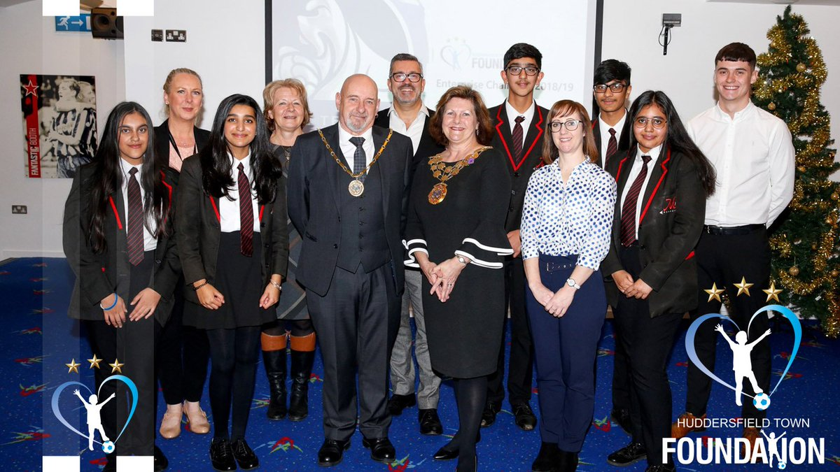 👨🎓 The Town Foundation carried out the @PLCommunities Enterprise Challenge Club heats on 6 December 2018 at the @johnsmithstadia.  💼 The business acumen of students from six local schools was tested.  🥇 Find out who will represent #htafc.  ➡️ http://bit.ly/StudentsPL (AT)