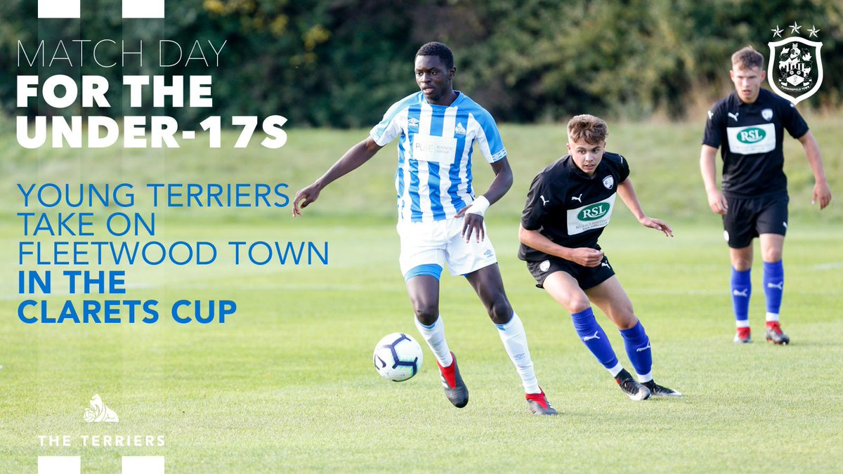 ⚽️ It's MATCH DAY for the #htafc Under-17 side!  @442Dean's #YoungTerriers host @academyftfc in the U17 Clarets Cup at @htafcCanalside at 1pm, having already qualified for the knockout stage.  You can come down and watch for free if you fancy!  (DTS)