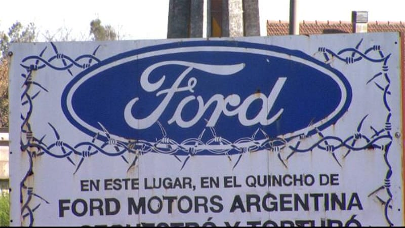 Argentina convicts two ex-Ford executives in torture case aje.io/l2xv2