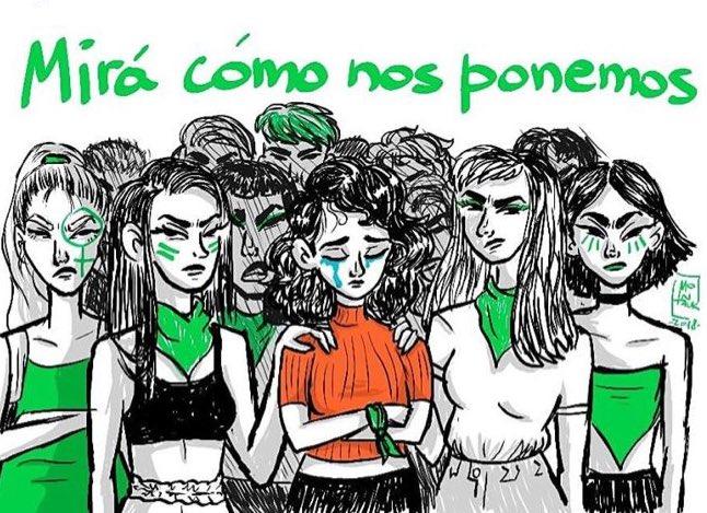 Hermana, yo sí te creo. #MiraComosNosPonemos #MeTooArgentina