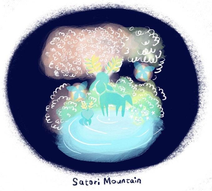 伝説 ブレス オブザ ワイルド 山 サトリ ゼルダ の